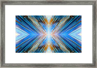 Framed Print featuring the photograph Cosmic Rays by Sandro Rossi