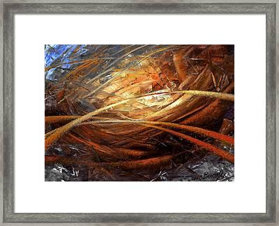 Cosmic Strings Framed Print
