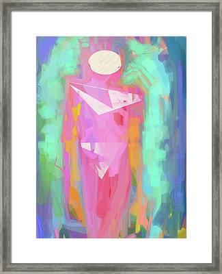 Cosmic Venus Framed Print