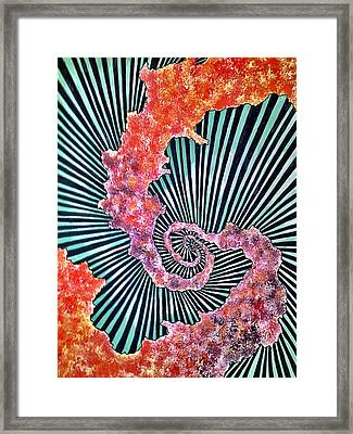 Cosmic Web Framed Print by Russell Barnes