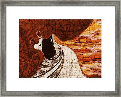 Cosmic Women Framed Print by Alexandra  Sanders
