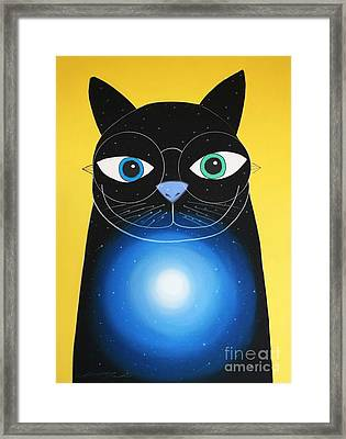 Cosmo Framed Print by Chris Mackie