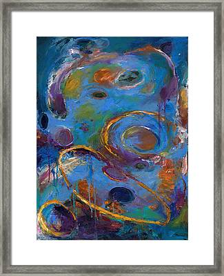 Cosmos 237 Framed Print by Johnathan Harris