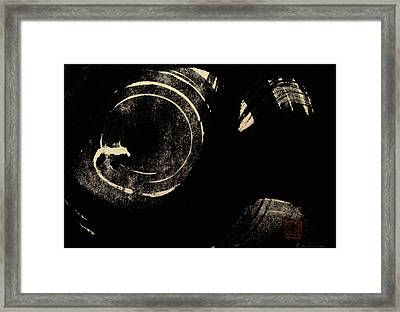 Cosmos Framed Print by Chisho Maas