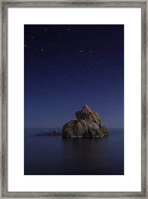 Costa Brava Framed Print