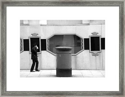 Costa Posta Framed Print by Jez C Self