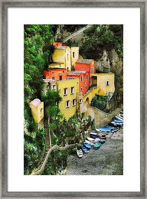 Costeria Amalfitano Framed Print by John Galbo