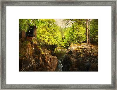 Cosy Bridge Framed Print