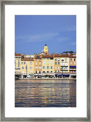 Cote D'azur, St-tropez, France Framed Print by Hiroshi Higuchi