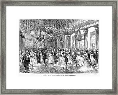 Cotillion, Christmas, 1868 Framed Print