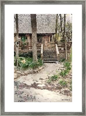 Cottage Framed Print by Anne Kitzman