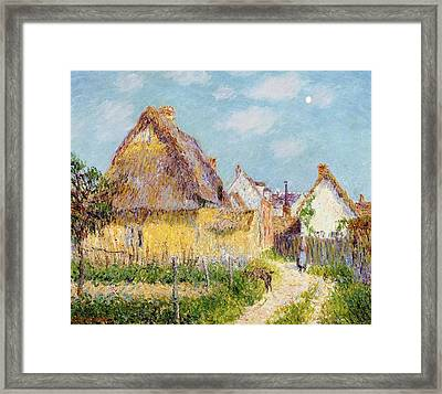 Cottage At Le Vaudreuil Framed Print