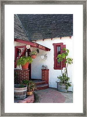 Cottage Charm Framed Print by Lorraine Devon Wilke