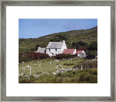 Cottage, Ireland Framed Print by The Irish Image Collection