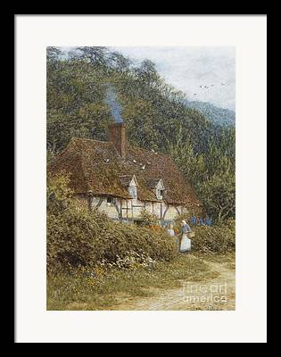 English Country Art Framed Prints