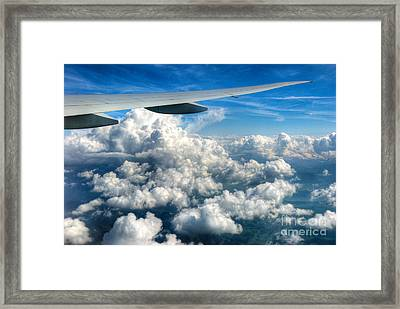 Cotton Balls Framed Print by Syed Aqueel
