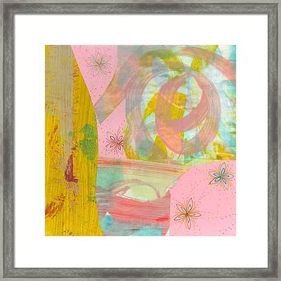 Cotton Candy Framed Print by Alexandra Sheldon
