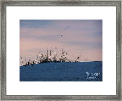 Framed Print featuring the photograph Cotton Candy Sky by Jeanne Forsythe