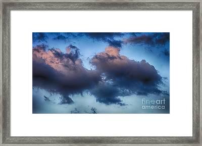 Cotton Candy Sunset Framed Print by Jeremy Linot