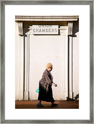 Could Be Anywhere Framed Print by Jez C Self