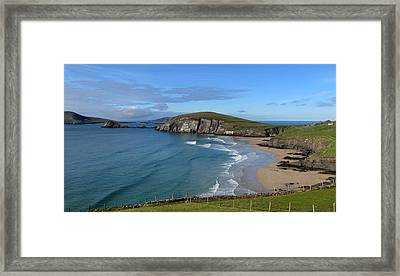 Coumeenole Beach Framed Print by Barbara Walsh