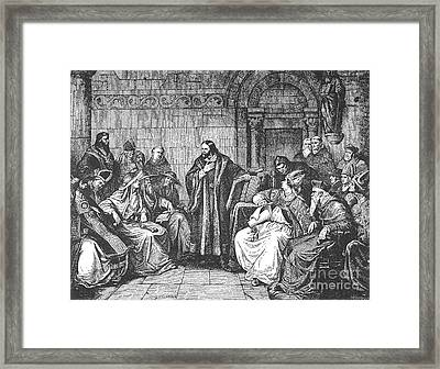 Council Of Constance, 1414 Framed Print by Granger
