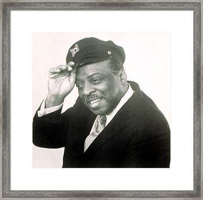 Count Basie, 1972 Framed Print by Everett