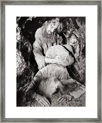 Count Of Monte Cristo, 1934 Framed Print by Granger