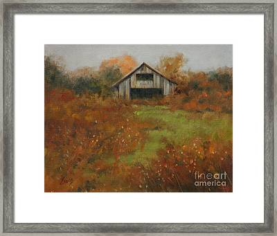 Country Autumn Framed Print by Linda Eades Blackburn