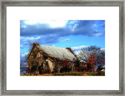 Country Barn Framed Print