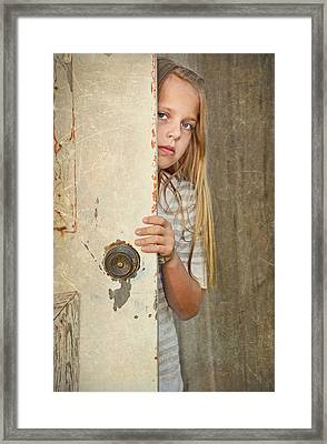 Country Child Framed Print