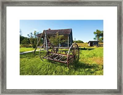 Country Classic Oil Framed Print by Steve Harrington