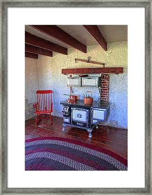 Country Cooking Framed Print