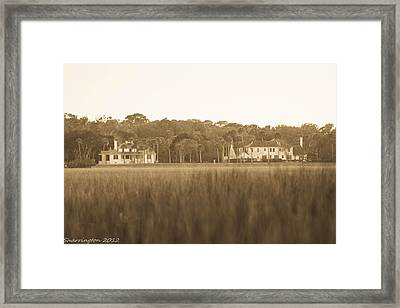 Framed Print featuring the photograph Country Estate by Shannon Harrington