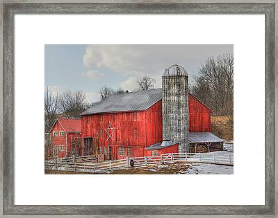 Country Feeling Framed Print by Sharon Batdorf