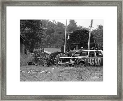 Country Fun Framed Print by Chad Thompson