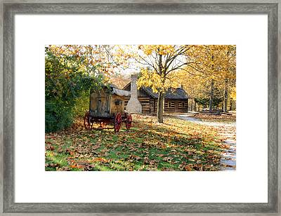 Country Living Framed Print by Franklin Conour