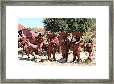 Country Music From Vail Lake Framed Print by Viktor Savchenko