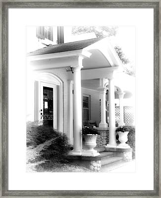 Country Retreat Framed Print by Julie Palencia
