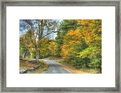 Country Road Framed Print by Chris Hartman Price