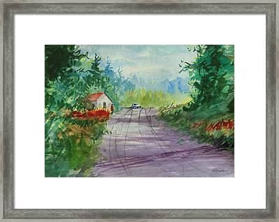 Country Road I Framed Print