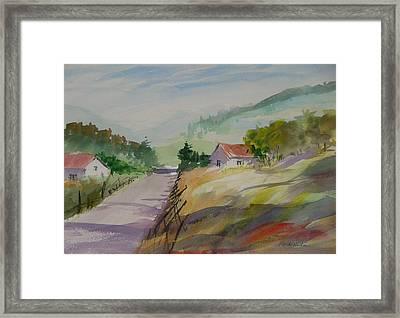 Country Road II Framed Print by Heidi Patricio-Nadon