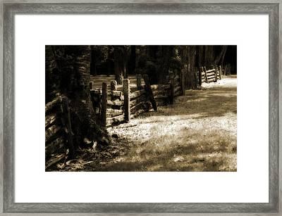 Country Romance Framed Print by Terrie Taylor