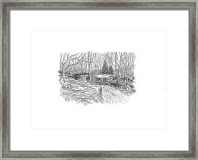 Country Scene 1 Framed Print
