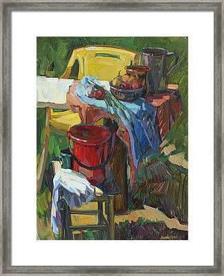 Country Still Life Framed Print