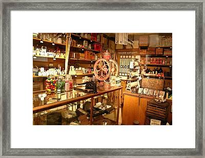 Country Store 1 Framed Print by Douglas Barnett