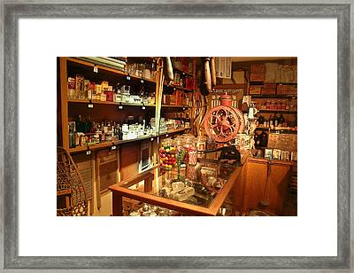 Country Store 2 Framed Print by Douglas Barnett