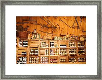 Country Store Framed Print by Paulette Thomas