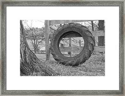 Country Travel Framed Print