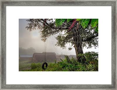 Country Wishes Framed Print by Debra and Dave Vanderlaan